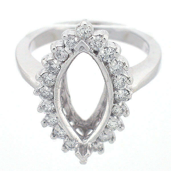 Halo Diamond Ring Settings Only