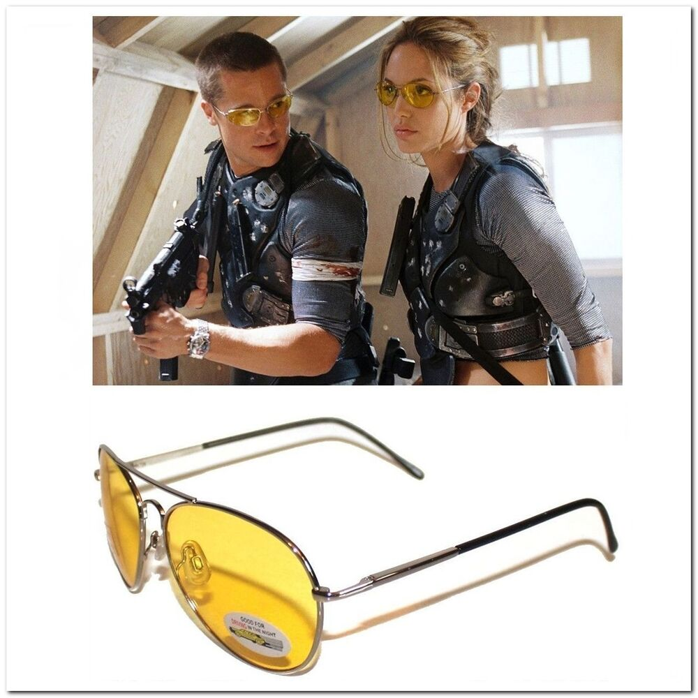 Yellow Lens Military Shooting Glasses Night Driving ...