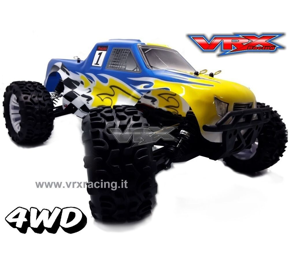 monster truck 1 10 off road elettrico brushless 4wd rtr 2. Black Bedroom Furniture Sets. Home Design Ideas