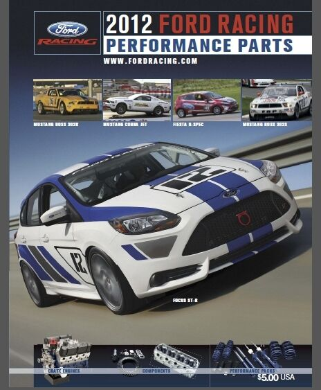 2012 ford racing performance parts catalog collectible m 0750 2012 ebay. Cars Review. Best American Auto & Cars Review