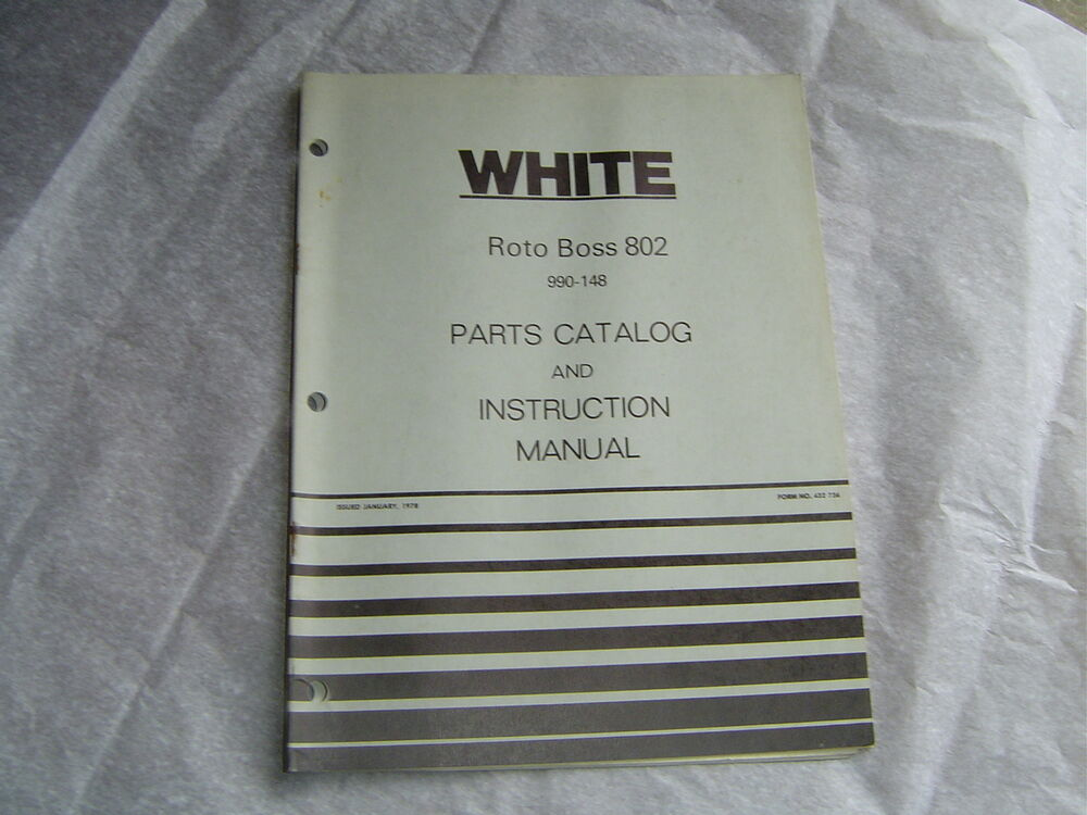 white roto tiller boss 802 operator instructions and parts. Black Bedroom Furniture Sets. Home Design Ideas