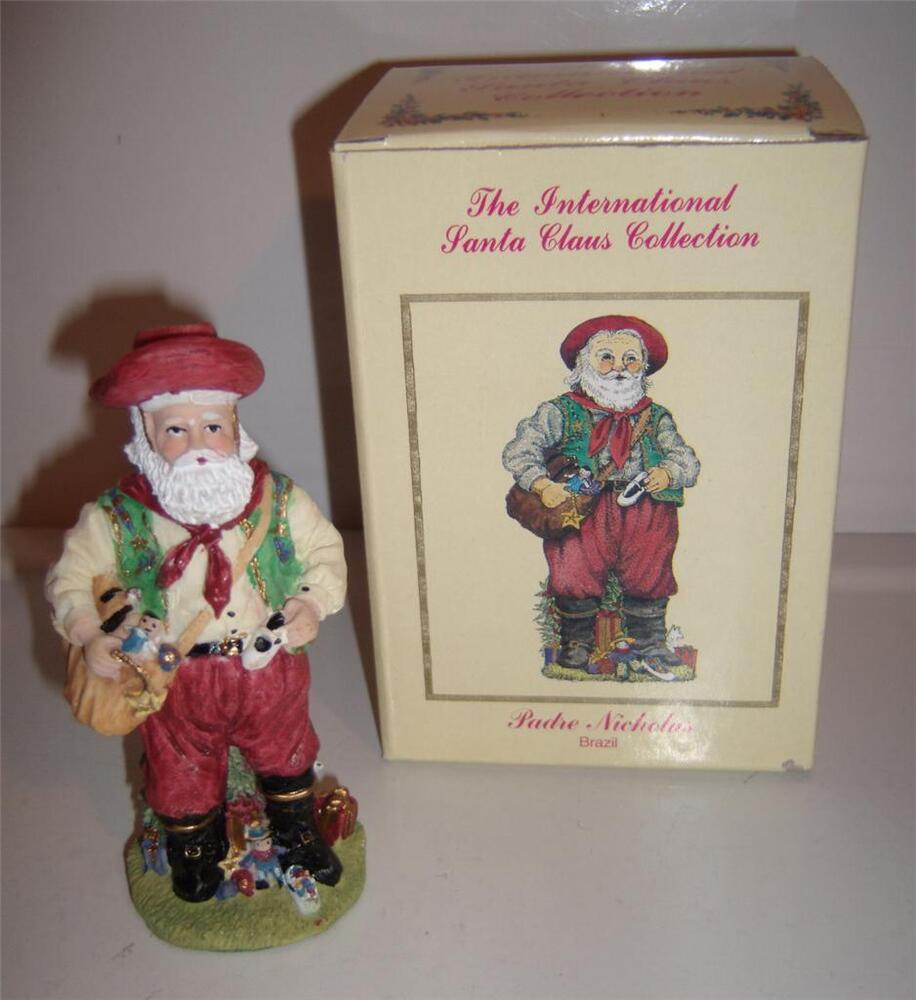 International santa claus collection padre nicholas brazil