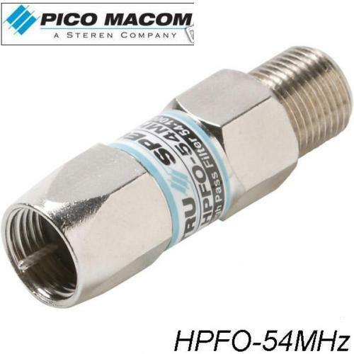 pico macom digital cable box high pass filter hpfo 54mhz original ebay. Black Bedroom Furniture Sets. Home Design Ideas