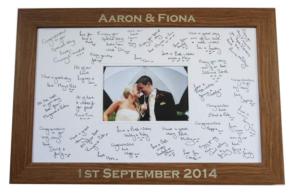 Wedding Signing Picture Frame