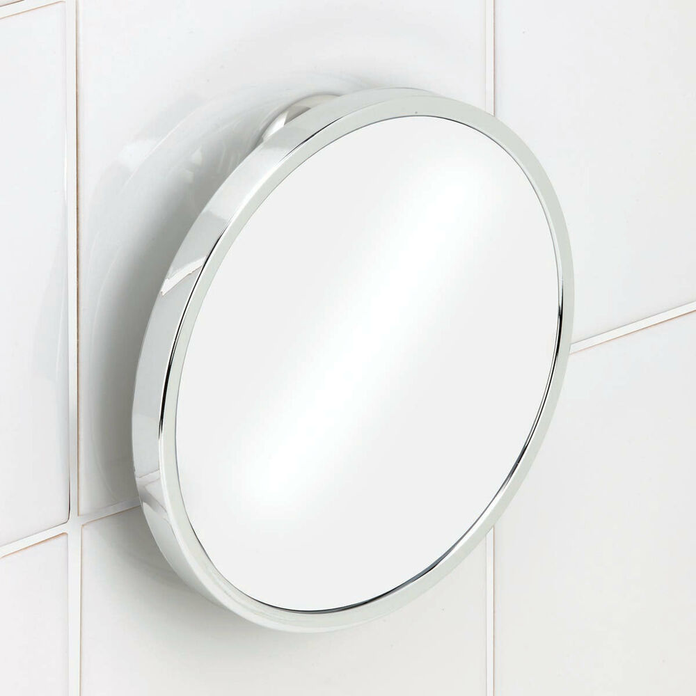bathroom mirror fog free fog free shower shave mirror twist n lock ebay 16214