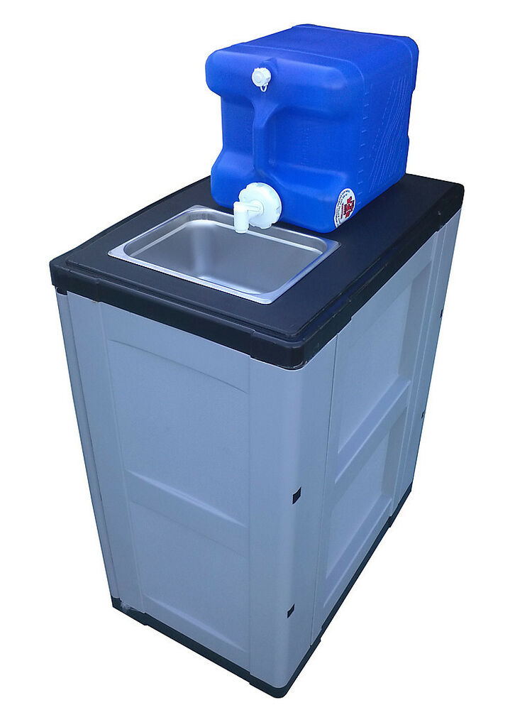 Portable Sink Hand Washing Made Easy No Electricity New Ebay