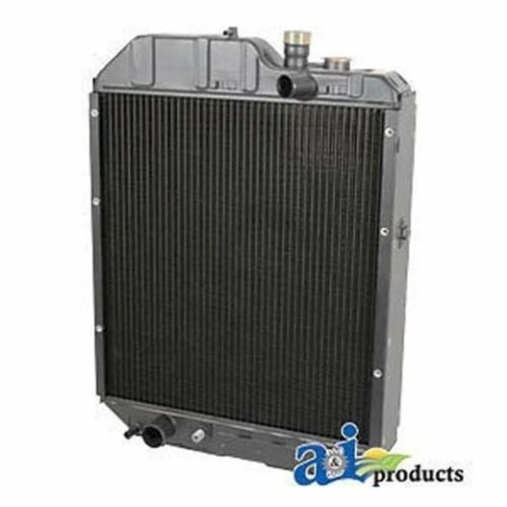Ford Tractor Radiator : Radiator fits ford new holland tractor