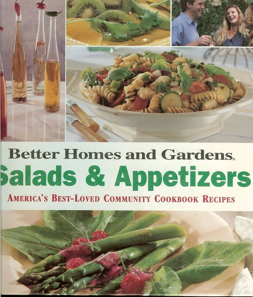 Better Homes Gardens Salads Appetizers From Community