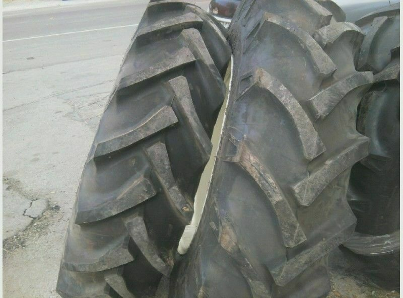 11 36 Tractor Tires : Two m farmall ply tractor tires with