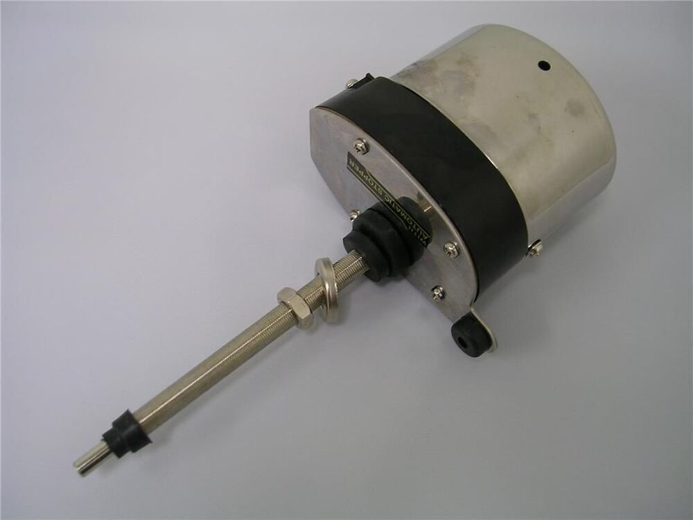 Universal Street Rod Stainless Wiper Motor Ford Chevy Ebay