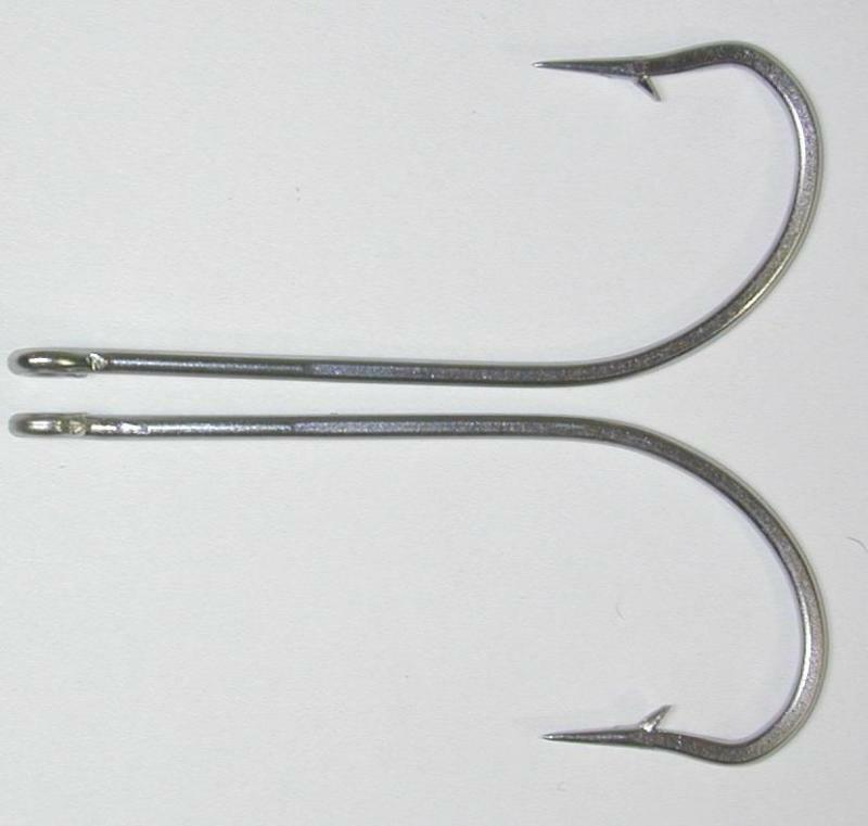 25 34007 9 0 stainless steel fish hooks flies bait lure for Stainless steel fishing hooks