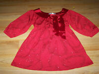 Girls Size Small Speechless Dressy Red Top Shirt Blouse Satin Glitter Holiday