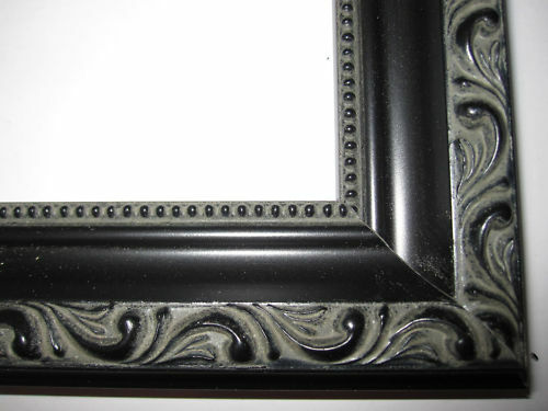 black english victorian ornate wood picture frames custom made standard sizes ebay