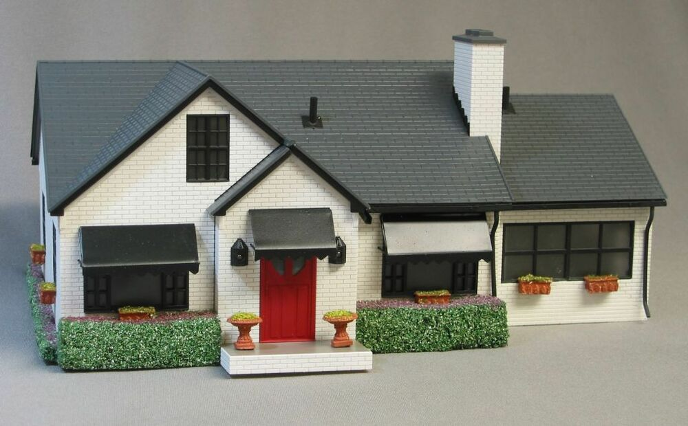 Lionel lighted classic house home scenery train building o for Classic house chords