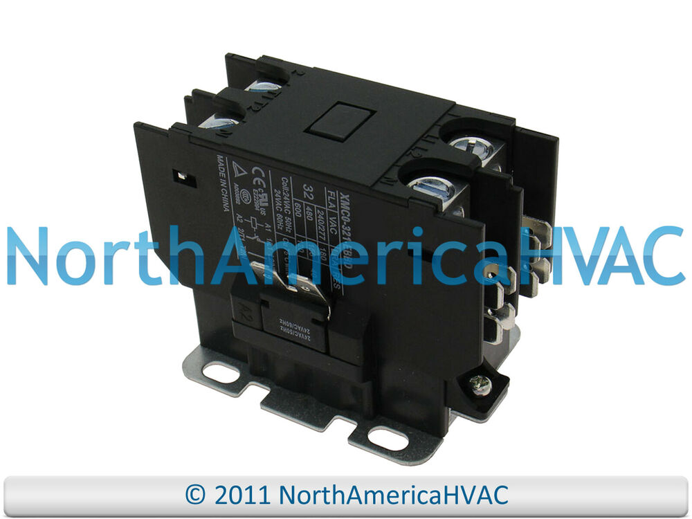 s l1000 oem rheem ruud weather king 24 volt single 1 pole contactor relay Rheem Thermostat Wiring at bayanpartner.co