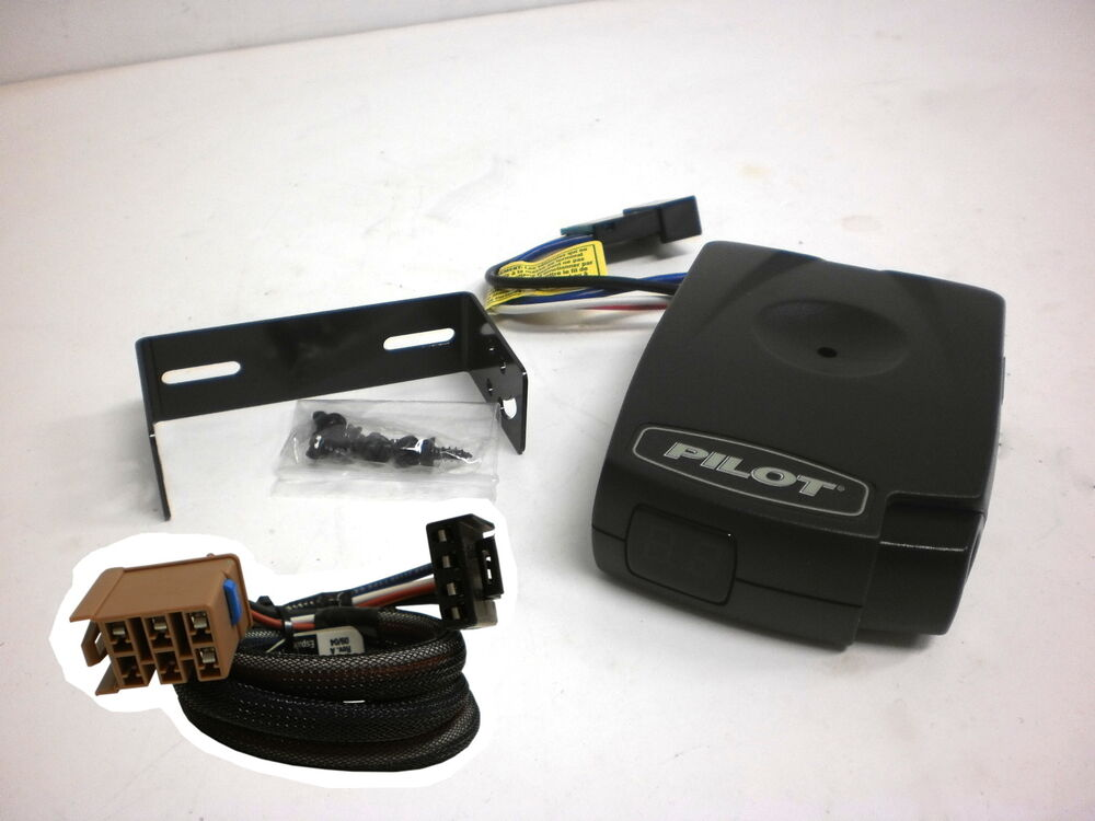 Trailer Wiring Harness For Surge Brakes : Pilot electric trailer brake control  gm