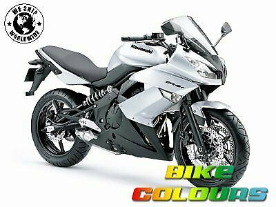 3 stage kawasaki touch up paint kit zx6r zx10r er6n z1000 pearl