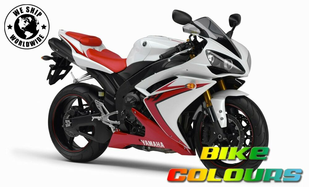 Yamaha 2 colour touch up paint kit r1 07 08 r6 06 09 for Yamaha r1 deals
