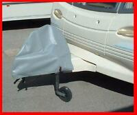 Caravan Hitch Cover Protects coupling from weather damage & dirt, universal GREY