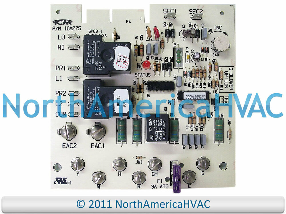 s l1000 carrier bryant payne furnace fan blower control circuit board  at gsmx.co