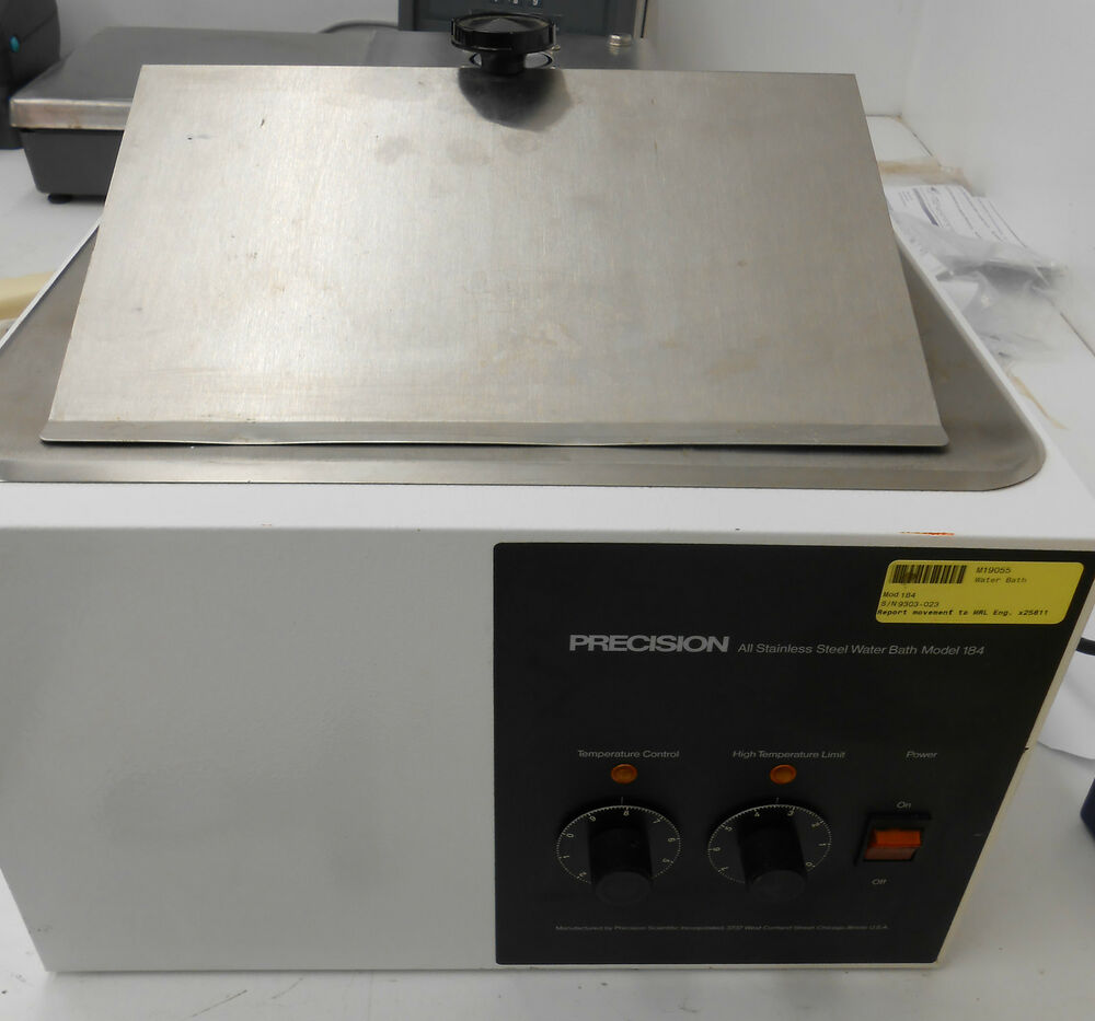 Precision All Stainless Steel Water Bath Model 184 C Q Limited Orbital Rotato