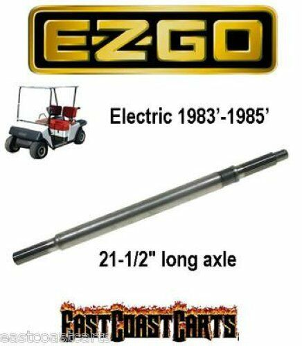 ezgo golf cart rear axle 1983 39 1985 39 electric driver side. Black Bedroom Furniture Sets. Home Design Ideas