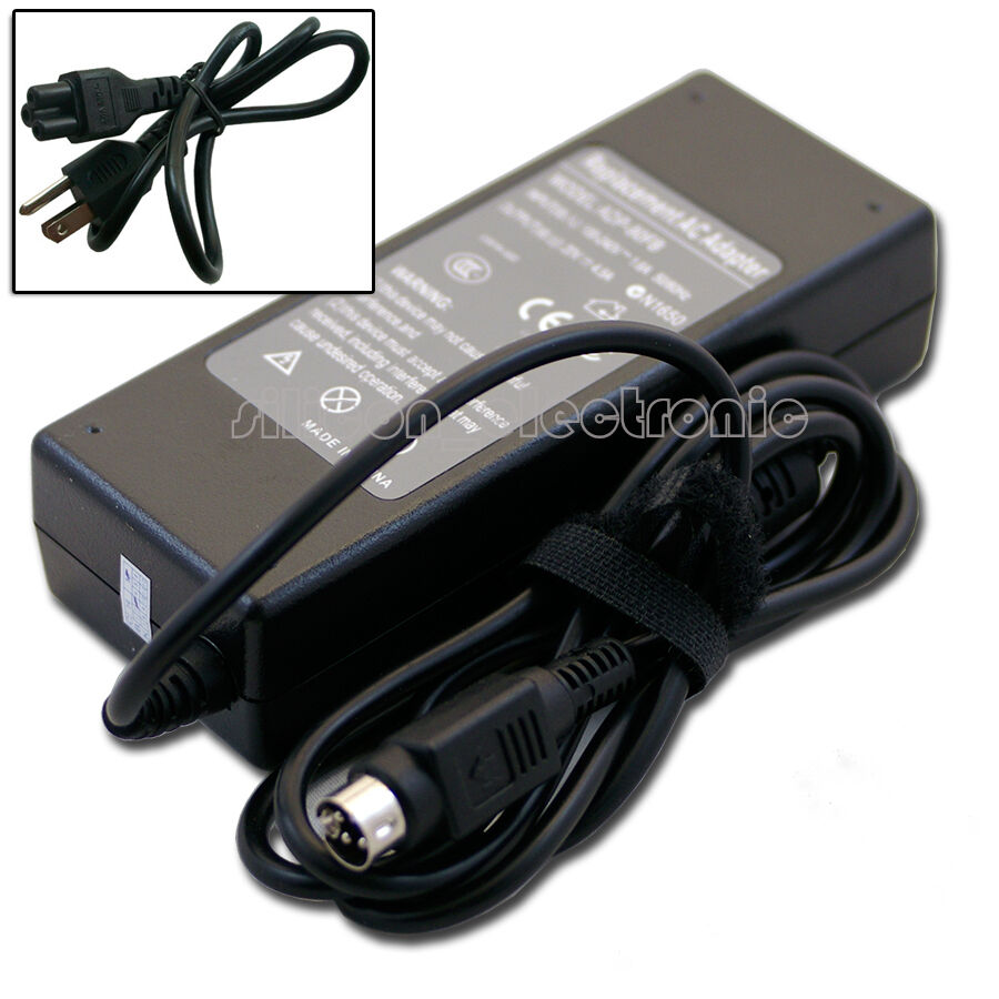 Power Supply Cords : W ac adapter charger for dell fp lcd monitor pa