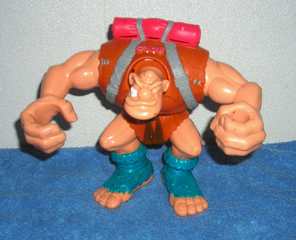 Toys And Adventures : Fisher price great adventures giant ogre quot action figure