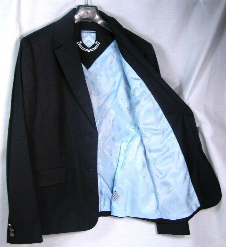 COLUMBIA UNIVERSITY WOMENS TEAM 2 BUTTON BLAZER LICENSED