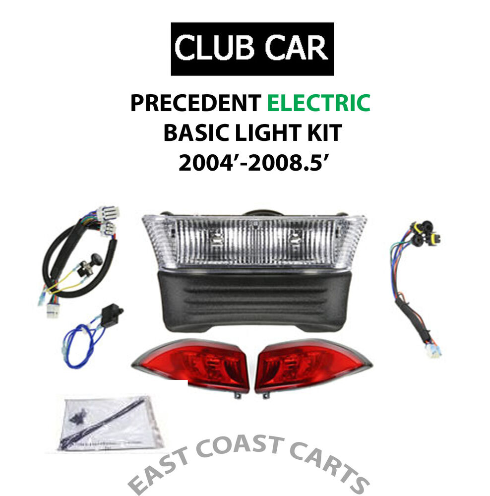 Electric Motor Kits For Golf Carts: Club Car Precedent LIGHT KIT (2004'-2008.5') ELECTRIC Golf