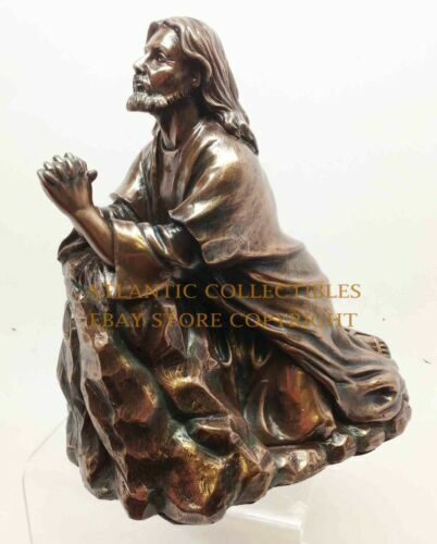 Http Www Ebay Com Itm Our Lord Christ Jesus Praying And Kneeling Statue Home Decor Figurine Christian 350605815486