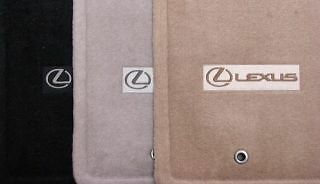 2004 09 genuine lexus rx330 rx350 ivory light tan carpet. Black Bedroom Furniture Sets. Home Design Ideas