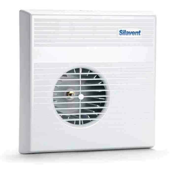 Silavent mayfair 70 standard push fit spec bathroom for 8 bathroom extractor fan