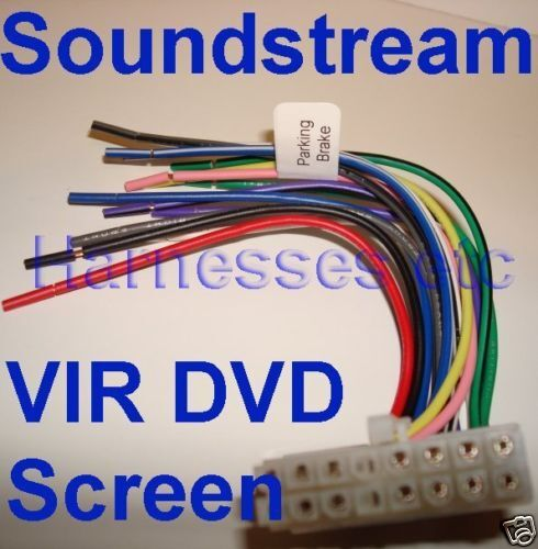s l1000 soundstream dvd vir 5850nrt 7011nbt 7840nrt 8011nt 7011n 8011n ebay soundstream vir 7840nr wiring harness at aneh.co