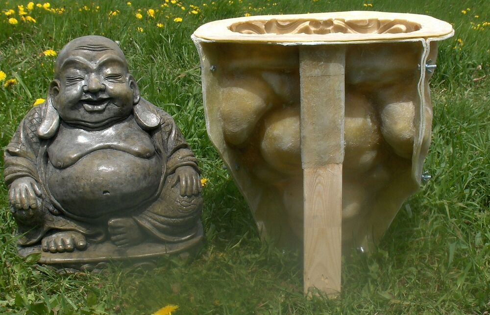 fiberglass buddha mold Latex