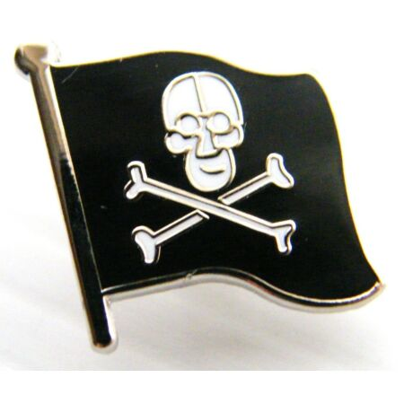 img-JOLLY ROGER NAVY BADGE NAVAL FLAG STYLE PIN IN FREE GIFT POUCH MILITARY