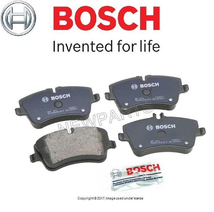 mercedes w203 c230 c240 brake pad set front bosch oem 005 420 62 20 ebay. Black Bedroom Furniture Sets. Home Design Ideas
