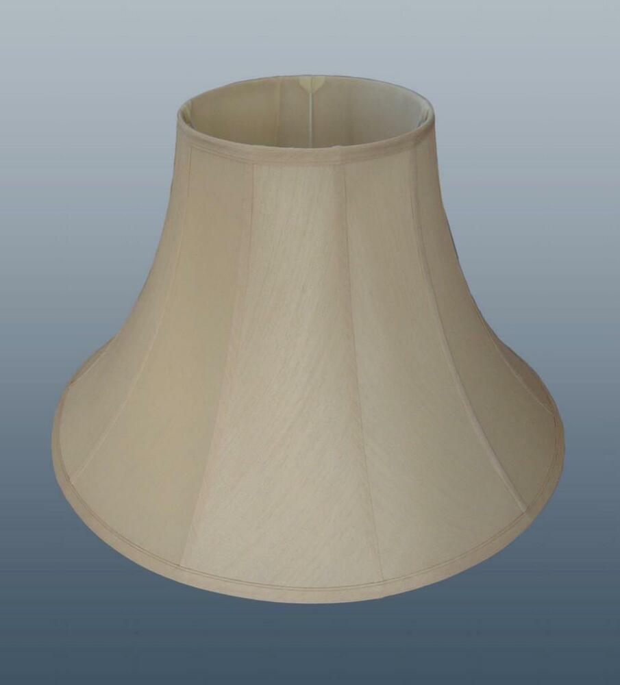 Bell Fabric Floor Table Lamp Light Shade Lampshade Cream