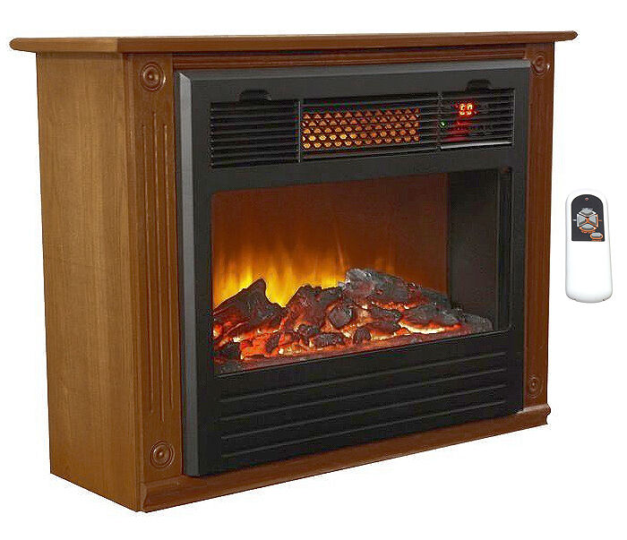 lifesmart infrared fireplace heater ls if1500 mofp w