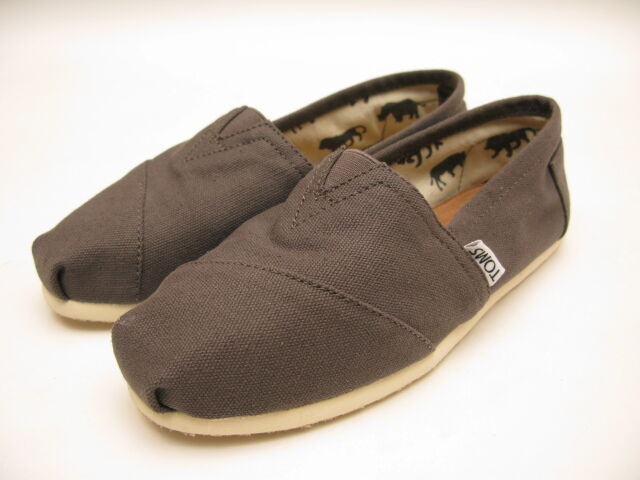 Toms Chocolate Canvas Women S Shoes