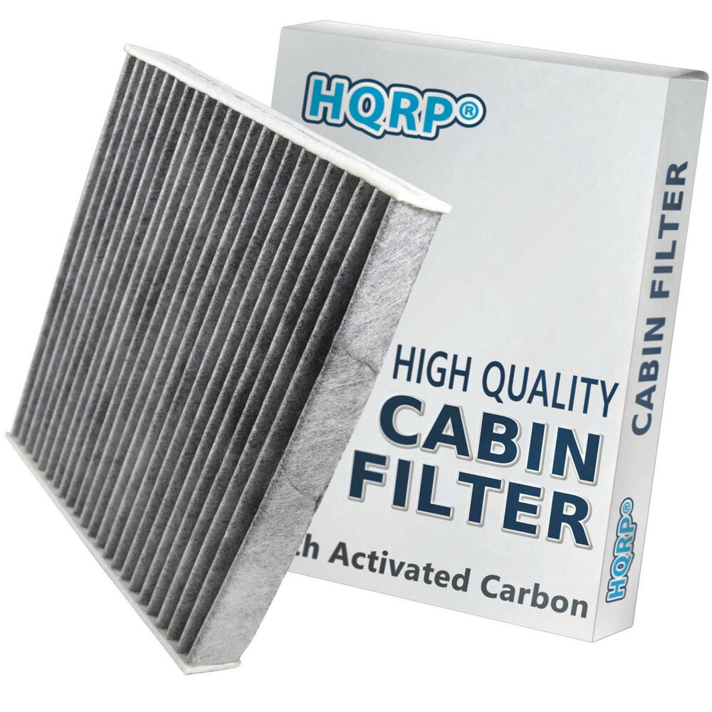 Hqrp Carbon Cabin Air Filter For Toyota Tundra Venza Yaris