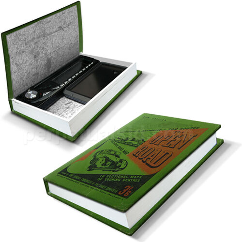 Luckies In Car Nito Secret Hidden Box Disguised Book Safe