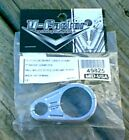 Chrome Clutch or Brake Line Clamp 1 inch handlebars for Harley Davidson