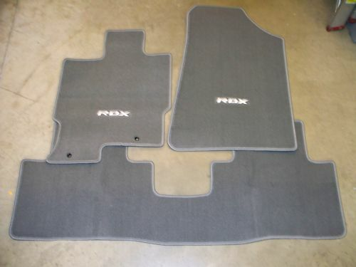 Genuine Oem 2007 2008 Acura Rdx Gray Carpet Floor Mats Set