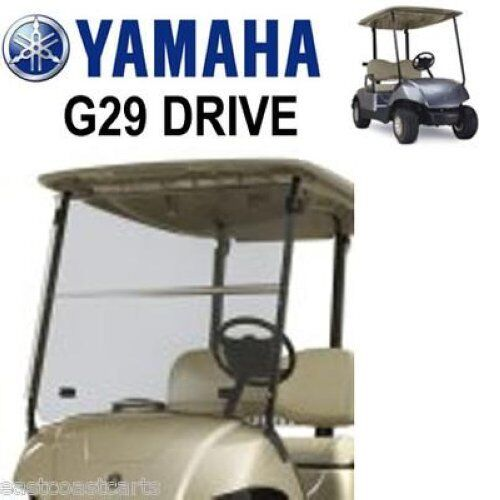 yamaha g29 drive golf cart windshield tinted free shipping ebay. Black Bedroom Furniture Sets. Home Design Ideas
