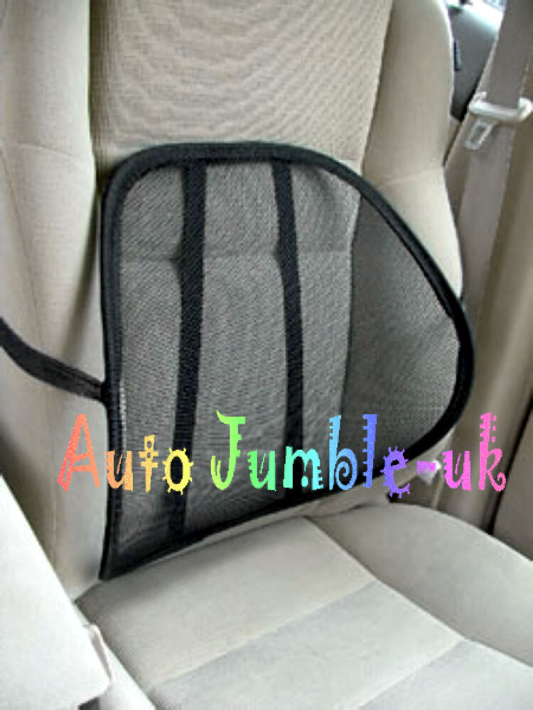 Mesh Lumbar Ergonomic Front Car Seat Back Support Cushion