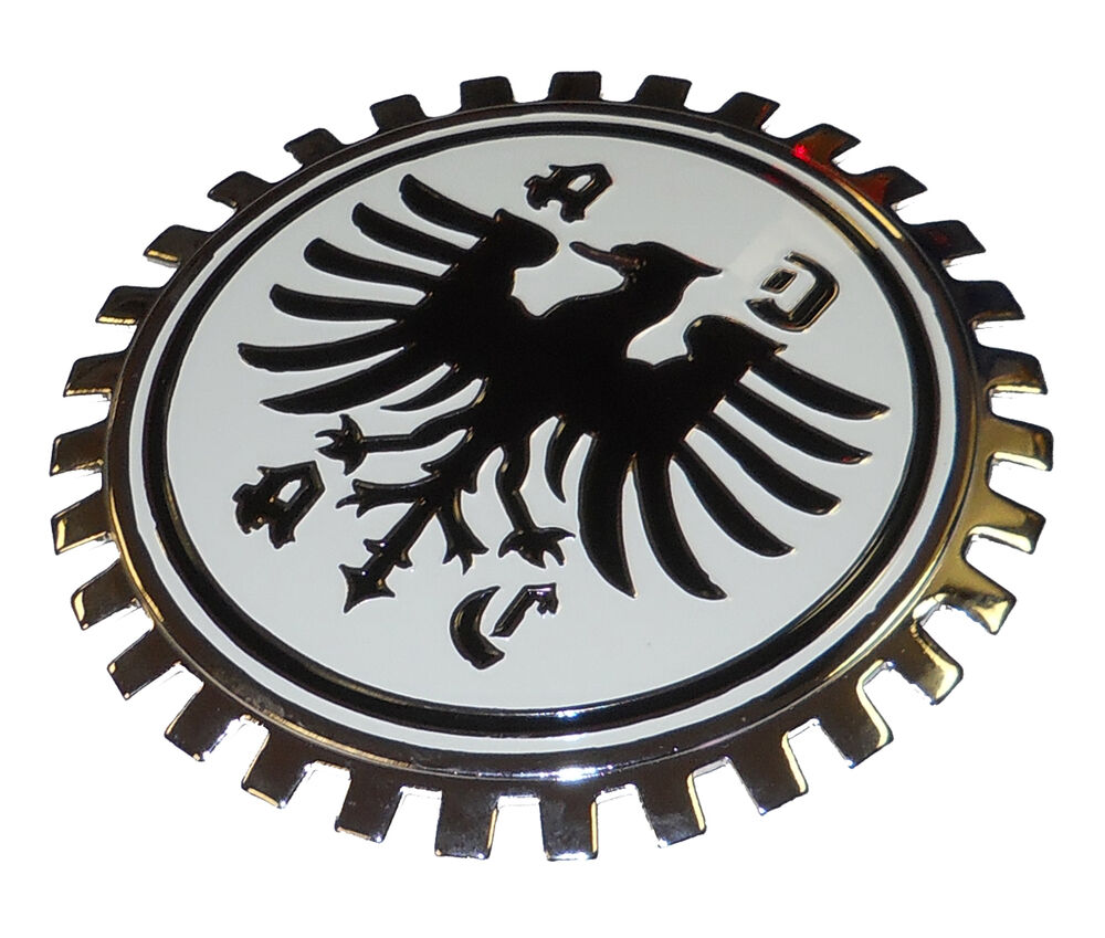 adac car club german grille badge ebay. Black Bedroom Furniture Sets. Home Design Ideas