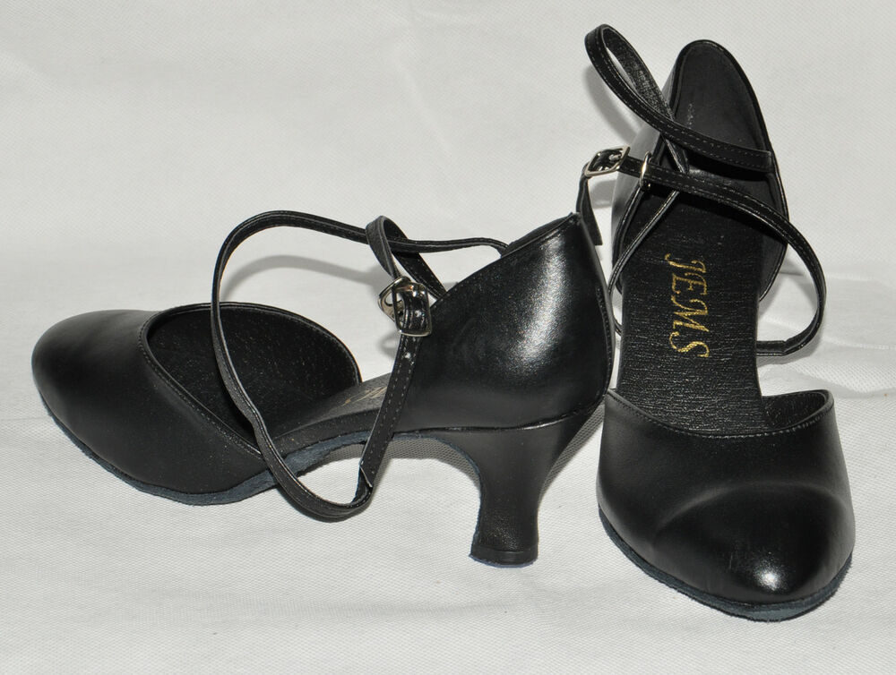 Silver Closed Toe Dance Shoes