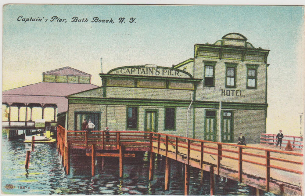 Bath beach captains pier hotel brooklyn ny ebay for Pier hotel new york