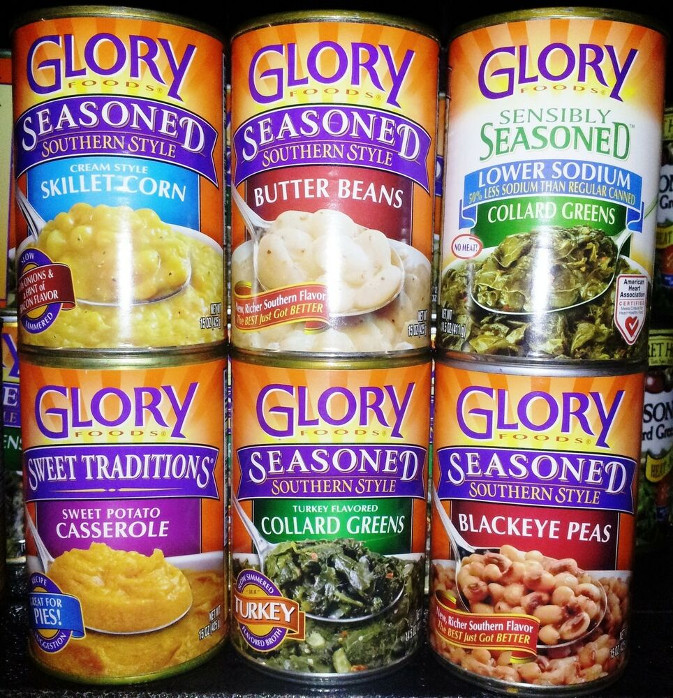 Where Are Glory Foods Canned